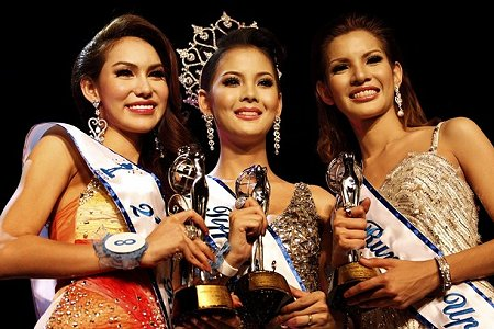 All 3.. Ladyboys in Pageant
