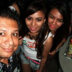 A few Promo Girls I ran into the night before Sinulog