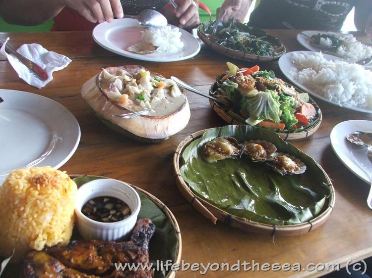 Lunch at the Lantaw - Mactan Cordova