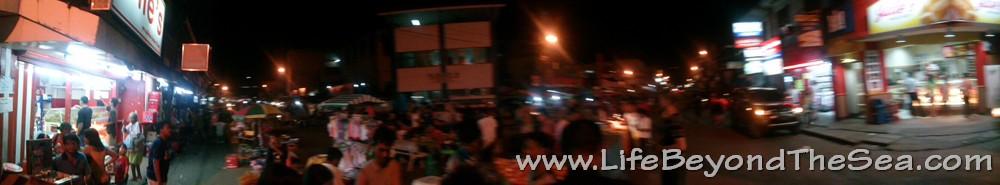 Wide-view shot of the Marketplace in Lapu Lapu.