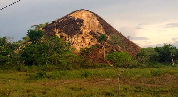chocolate hills shaken by the quake