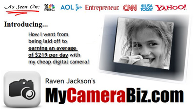 Earn Money With Your Digital Camera